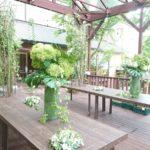 和装婚 ガーデン装飾-2