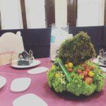 北海道150周年式典 テーブル装飾