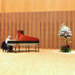 バイオリン発表会 ステージ装花-2