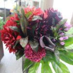奥様へのお誕生日花束
