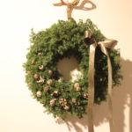 もみの木のクリスマスリース