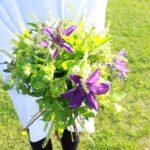 6月 テッセンの花束