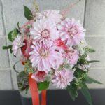11月のダリア花束