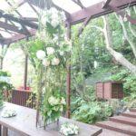和装婚 ガーデン装飾