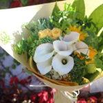 同窓会のお花束