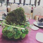 北海道150周年式典 テーブル装飾-2