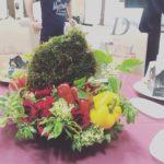 北海道150周年式典 イベントテーブル装飾-3