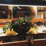 レストラン開店のお祝いアレンジメント