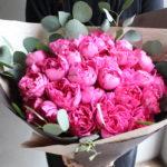 奥様へお誕生日の花束