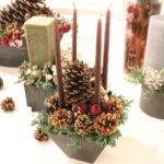 クリスマス キャンドルアレンジメント