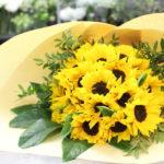 ウェディングサプライズのお花束