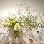 Obon / A bouquet with a flower vase