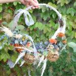 ウェディング 秋のリースブーケ / Wedding Wreath Bouquet