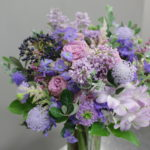 ウェディング 紫のクラッチブーケ |  Wedding Purple Bouquet