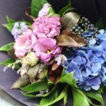 退職祝いの花束 / Bouquet for retirement.