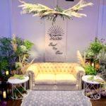 ウェディング メインソファー装飾 / Wedding Main Deco