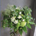 美容室 周年のお祝い 花束