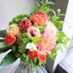 母の日のお花束-4