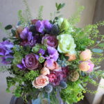 母の日のお花束-7