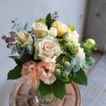 結婚退職 送別の花束