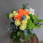 定年退職 送別の花束
